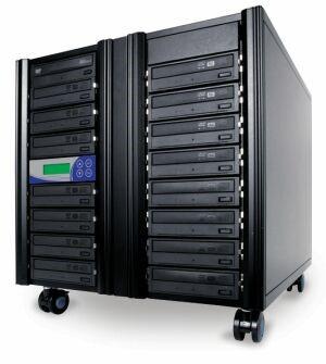 DVD Kopierturm mit 15 DVD Brennern